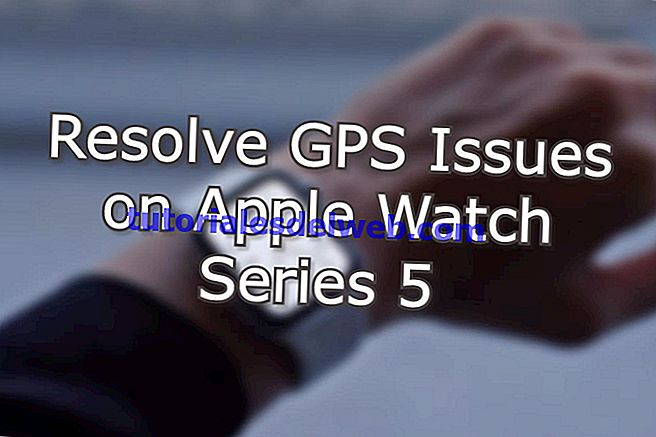 Los met deze procedure GPS-problemen op Apple Watch Series 5 op