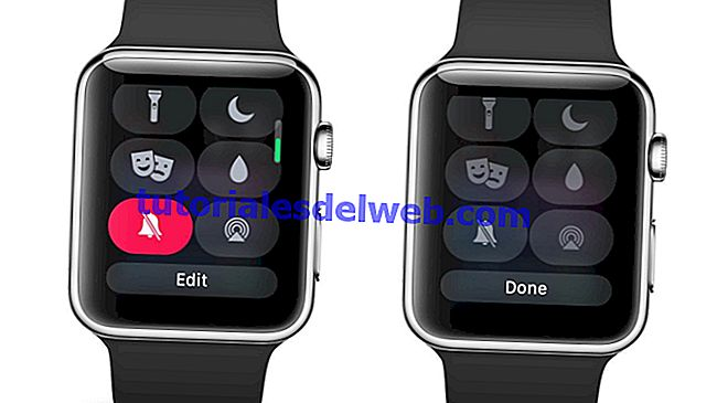 Hoe Control Center op Apple Watch te bewerken