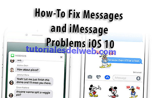 iMessage werkt niet iOS 10, How-To Fix