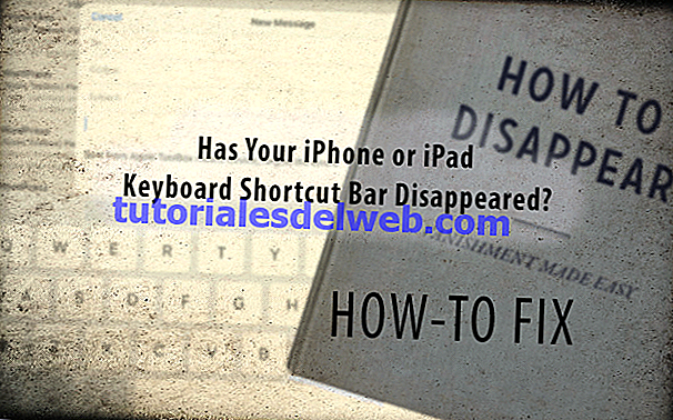 iPhone, iPad Keyboard Shortcut Bar Hilang, Perbaiki