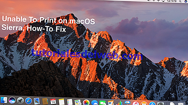 Impossible d'imprimer avec macOS Sierra, How-To
